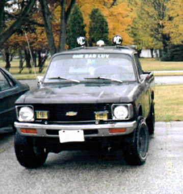 1980 4x4 chevy luv